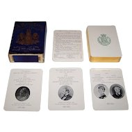 """""""A Royal Game"""" Happy Families Card Game, """"Her Majesty the Queen,"""" Queen Victoria Children and Grandchildren, c.1896"""