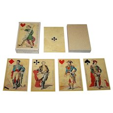 "Grimaud ""Jeu des Liberateurs"" Playing Cards [Reprint of ""July Revolution Cards, Unknown Maker, c.1830], c. 1986"
