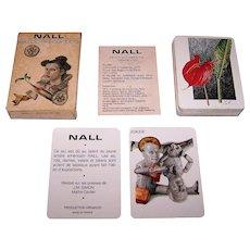 """Grimaud """"Nall"""" Playing Cards, Fred Nall Hollis (""""Nall"""") Designs, c.1979"""