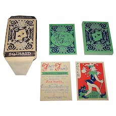 "Chicago Playing Card Collectors ""Fact & Fancy"" Playing Cards, Limited Edition (474/600), Dick Martin Designs, c.1961"