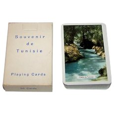 "Piatnik ""Oasis de Tunisie"" Souvenir Playing Cards"