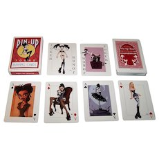"""Rion Vernon """"Pin-Up Toons"""" Pin-Up Playing Cards, Rion Vernon Designs"""