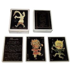 """Grimaud """"Ballet Petrouchka"""" Playing Cards, c.1988"""