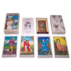 "Carta Mundi ""Connolly Tarot"" Tarot Cards, U.S. Games Publ., 1st Edition, Eileen Connolly Designs, c.1990"
