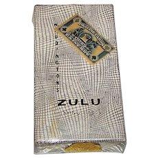 """Waddington """"Zulu"""" Novelty Playing Cards, Janet Elveen Designs, c.1950s"""