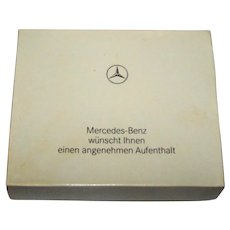 "Nurnberger-Spielkarten-Fabrik ""Mercedes-Benz Lady-Karte"" Playing Cards w/ Dice, c.1989"