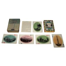 """USPC """"Vermont, the Green Mountain State"""" Souvenir Playing Cards, Chisholm Bros. Publisher, c.1910"""