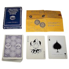 """Arrco """"Deland's Automatic"""" Playing Cards"""
