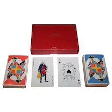 """Double Deck Dougherty """"Cartier"""" Playing Cards, c.1926"""