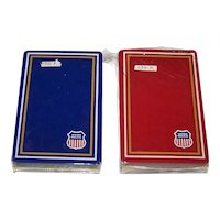 """Double Deck Gemaco """"Union Pacific"""" Railroad Playing Cards, c.1980, $5/ea."""