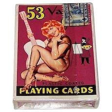 """Brown & Bigelow (Redi-Slip) """"53 Vargas Girls"""" Pin-Up Playing Cards, Alberto Vargas Designs, c.1953"""