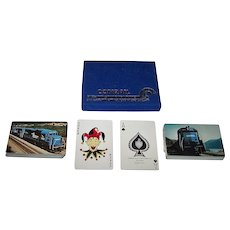 "Double Deck Arrco ""Conrail"" Railroad Playing Cards, 1976"