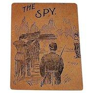 "Woolson Spice Company ""Spy"" Card Game, Lion Coffee Advertising Premium, Civil War Theme, c.1893"