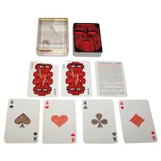 """Croxley Playing Card Co. """"Maori Kings"""" Playing Cards, c.1980s"""