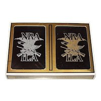 """Double Deck Gemaco """"NRA-ILA"""" Playing Cards"""