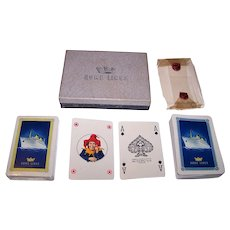 "Double Deck Modiano ""Home Lines"" Maritime Playing Cards, c.1980(?)"