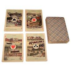 """Speelkaarten Fabriek Nederland """"Export"""" Playing Cards, c.1915-1920"""