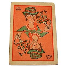 "Whitman ""Old Maid"" Card Game, c.1932"