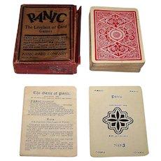 """Panic Card Company """"Panic"""" Card Game, c.1903"""