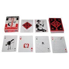 "Inky Dinky ""Bag of Bones"" Playing Cards, ""Semi-Transformation"" Pips, John Littleboy Designs"