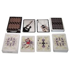 "2 Decks Cartamundi Non-Standard Playing Cards for ""Schoenen Rik Peeters,"" Julia Podany Designs, Shyleen Fenney Designs, $10/ea. separately"
