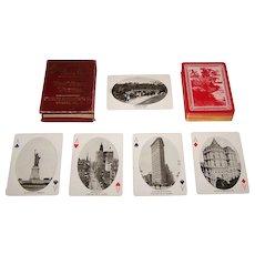 "Standard Playing Card Co. ""New York Views"" Souvenir Playing Cards, c.1910"