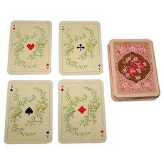 "ASS Skat Playing Cards, Patience Size, ""Salon-Karte"" Designs, c.1950s"