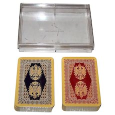 "Double Deck ASS ""Kaiser"" Playing Cards, c.1975"