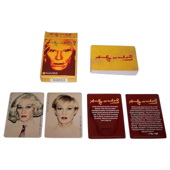 "Warhol Foundation ""Andy Warhol"" Playing Cards, Maker Unknown"