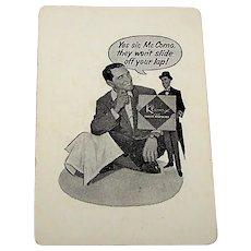 "Arrco ""Perry Como"" Playing Cards, ""Kleenex Paper Napkins"" Advertising, c.1950s"