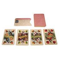 "Kalamazoo Playing Card Co. ""Magyar-Helvet-Kartya #68"" Playing Cards, Hungarian William Tell Pattern, c.1911"
