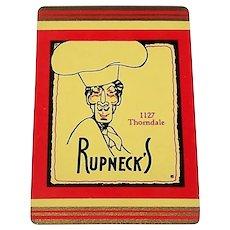 "Brown & Bigelow (Redislip) ""Rupneck's"" Playing Cards, c.1950s"