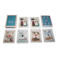 """Editions Dusserre (Boechat Freres) """"Premiere Guerre 1914-1918"""" Playing Cards, c.1979"""