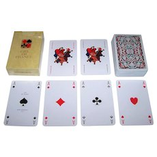 "Draeger Freres ""Ciel de France"" Playing Cards, Miro Company Publisher, Jacques Branger Designs, c.1970s (?)"