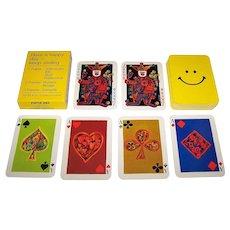 "Piatnik ""Rezegh Offset Druck – Happy Day"" Playing Cards, Ernst Insam Designs, c.1970"