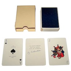"Draeger Freres ""Ciel de France"" Playing Cards, Miro Company Publisher, Jacques Branger Designs, c.1950"