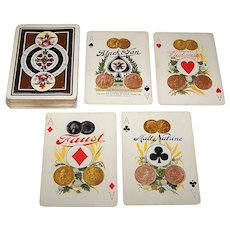 "USPC ""Anheuser-Busch, Spanish American War"" Playing Cards (52/52, NJ), c.1900"