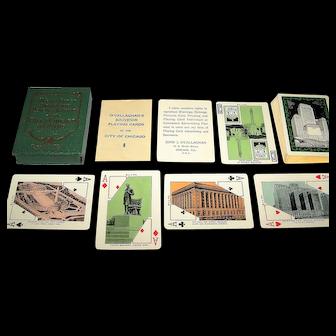 "John J. O'Callaghan ""City of Chicago"" Souvenir Playing Cards, c.1930"