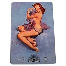 "Brown & Bigelow ""Mathews"" Pin-Up Playing Cards, Gil Elvgren Designs (Backs), c.1950s"