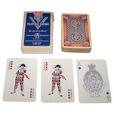 "De la Rue ""Conservative & Unionist Party"" Playing Cards, Association of Conservative Clubs, Ltd. Distributor, c.1950s"