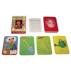 "Ariel Productions, Ltd ""What's Sooty's Line"" Card Game, c.1950s"