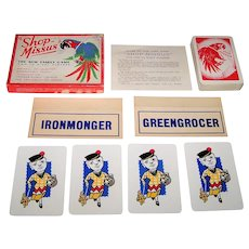 "Waddington's ""Shop-Missus"" Card Game, c.1948"