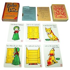 "Waddington ""Bob's yr Uncle"" Card Game, c.1935"