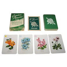 "Pepys ""Garden Flowers"" Card Game, Dora Ratman Designer, c.1961"