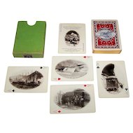 """USPC """"The White Pass and Yukon Route"""" Railroad Playing Cards, c.1900"""
