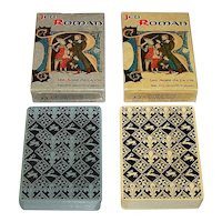 "Twin Decks Edition Dusserre ""Jeu Roman"" Playing Cards, c.1990, $15/ea."