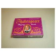 Double Deck of Carta Mundi (U.S. Games) Shakespeare Playing Cards, Virginijus Poshkus Illustrations, c.1992