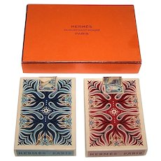 "Double Deck Draeger-Freres ""Hermes"" Playing Cards, Cassandre Designs, Second Edition, c.1950"