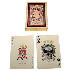 """Single Deck NYCC """"Deluxe No. 142"""" Playing Cards, c.1926"""