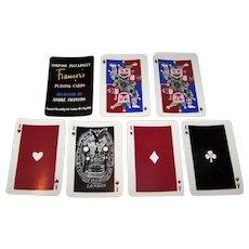 """De La Rue """"Simpson Piccadilly"""" Playing Cards, André François Designs, c.1953"""